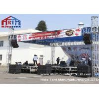 Quality Non - Toxic Aluminium Lighting Truss Rigging Easy Install Waterproof PVC Cover for sale