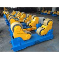 China 20 Ton Rotary Capacity Pipe Welding Rollers Optional Wireless Remote control wholesale