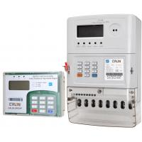 Buy cheap Three Phase Prepaid Electricity Meters , Plc Rf Commercial Electric Meter from wholesalers