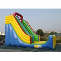 Commercial Inflatable Outdoor Toys Durable PVC Tarpaulin For Bouncer Sliding