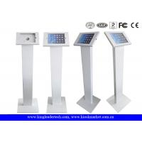 China Freestanding iPad Kiosk Stand Enclosure With Lockable Mechanism Design wholesale