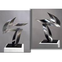 Wholesale Customized Modern Stainless Steel Art Sculptures Indoor Decorative Brushed Finishing from china suppliers