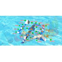 Wholesale Tarpaulin Inflatable Water Toys Floating Water Park With Air Pump from china suppliers
