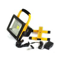 Battery Powered Work Lights Led Rechargeable Flood Light 6000K - 6500K