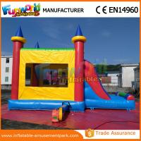 Wholesale PVC Commercial Inflatable Bounce Slide / Inflatable Castle Combo Units from china suppliers