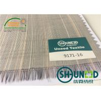 Wholesale Horse Tail Woven Interlining Fabric For Uniform And Business Casual Suits from china suppliers