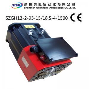 China 840N.m 1500-4000rpm 132KW 840Nm AC servo spindle motor 220V wholesale
