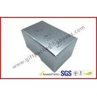 Free sample Silver Hot Stamping promotion Gift Boxes for memorabilia