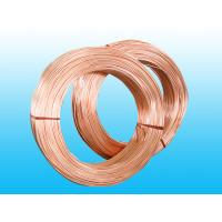 Copper Coated Steel Evaporator Tube 4.76 * 0.7 mm , Low Carbon Strip