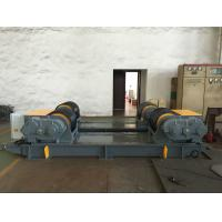 Wholesale Dual PU Wheel Welding Pipe Turning Rolls / Conventional Welding Rotator Loading 200T Pressure Vessel from china suppliers