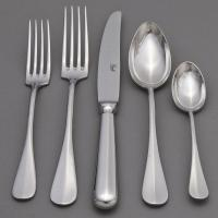 Hotel or family cutlery flatware or cutlery set