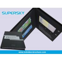 Customized Style Craft LCD Video Card Rechargeable With Magnetic Switch