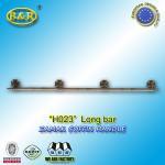 Wholesale Metal coffin bar Ref H023 zamak coffin long bar metal herrajes de ataudes 1.55 meter with 4 bases from china suppliers