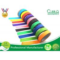 Wholesale Low Adhesive Solvent - Based Acrylic Red Colorful Thin Masking Tape Crepe Paper from china suppliers