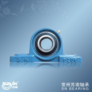 High Precision Cast Iron Pillow Block Bearing UCP206 , Textile Bearing