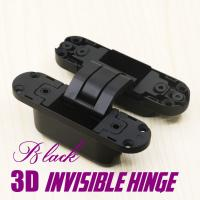 China 180 degree 3D adjustable hidden concealed hinges 3d invisible hinge wholesale