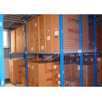 China Hot Dip Galvanized Steel Automotive Rack With Multi Layer Mezznanine Floor wholesale