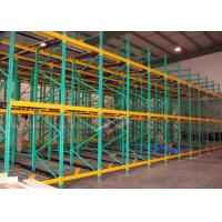 China Heavy Load Dynamic Flow Pallet Rack Q235B Steel Storage Racking For Cold Supply Chain wholesale