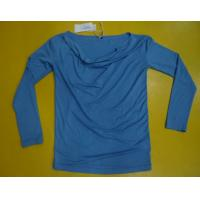Wholesale Fitness Women'S Modal Tops , Fashion Women'S V Neck Long Sleeve T Shirts from china suppliers