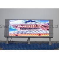 Advertising moving message rental LED display wall mounted 7000cd / m2 1 / 4scanning