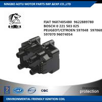FIAT 9607405480  9622889780 BOSCH 0221503025 PEUGEOT / CITROEN 597048  597060  Car Ignition Coil Unit ,  Ignition parts