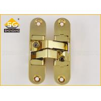 China 111.5 X 29mm 180 Degree Adjustable Concealed Hinge For Wooden Doors wholesale