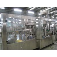 High Viscosity Plastic Bottle Juice Bottling Machine PLC Control With Recycling System