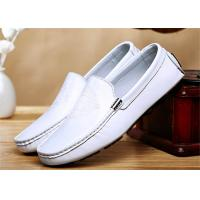 Quality Head Leather Upper Loafer Slip On Shoes Mens Casual Moccasins For Spring Autumn for sale