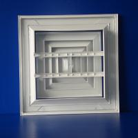 Wholesale ZS-FS Aluminum Square air diffuser from china suppliers