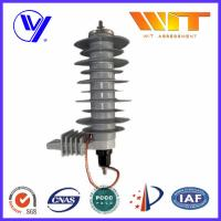 Wholesale 5KA Silicon Rubber Polymer Surge Arrester With Insulating Bracket from china suppliers