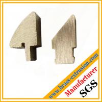 Wholesale Brass lock cylinder copper alloy extrusions profiles section from china suppliers