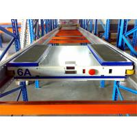 China Anti Rust Adjustable Durable Shuttle Pallet Racking With Pallet Runner wholesale