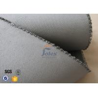 Wholesale Grey 1500gsm 1.5mm E Glass Cloth , Silicone Coated Fiberglass Cloth Sheets from china suppliers