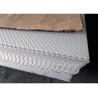 Laser Cutting Embossed Stainless Steel Sheets / Stainless Steel 304 Sheet Floor