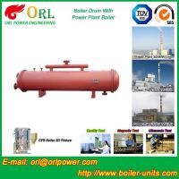 Wholesale 300 ton ionic boiler mud drum ORL Power from china suppliers