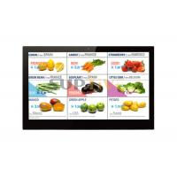 Wall Mount Digital Signage 15.6″ Inch Lcd Advertising Display Screen Digital Signage Player for Shop Supermarket Bus