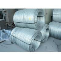 China High Tensile Strength Electro Galvanized Wire with Zinc Coating wholesale