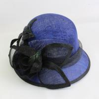 Wholesale Hot sale short brim sinamay hats for church horse racing hats for lady from china suppliers