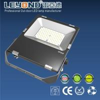 China Flat Pad Type 110 Lm / W Philips 3030 Chip Waterproof Led Flood Lights 10w 30w 50w 80w wholesale