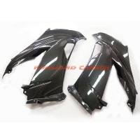 China Quality carbon fiber motorcycle parts carbon fibre side fairings for Kawasaki ZX6R 2013 wholesale