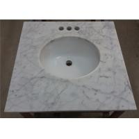 Customized Marble Vanity Tops 25 Inches For Bathroom Countertops