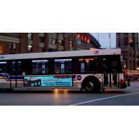 Buy cheap Full Colour  Digital Advertising Signs LED Bus Display from wholesalers