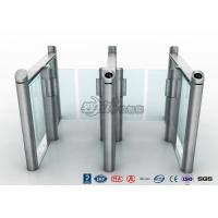 Stylish Optical Speed Gate Turnstile Bi - Directional Pedestrian Queuing Systems Entry Barriers