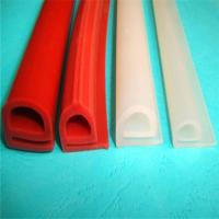 Wholesale Durable Silicone Extruded Profiles Electrically Insulating With Dielectric Strength 500 V/Mil from china suppliers