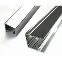 Wholesale Square Mechanically Polished Aluminium Profile Extrusion For Building Material from china suppliers