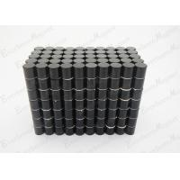 Wholesale Cylinder N35 Neodymium Magnets Coated Black Epoxy , Neodymium Cube Magnets For Furniture Component from china suppliers