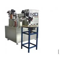 Cap Gluing Air Filter Making Machine , A 60L And B 35L Two Component