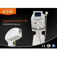 China Safety 808nm Diode Laser Permanent Hair Removal Machine For Female wholesale