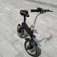 Wholesale CE FCC Certification 36v 400w Folding Electric Bicycle , Fold Up Electric Bike from china suppliers