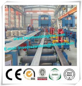 Automatically H Beam Welding Line , Shipbuild T Welding Machine